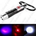 Pointeur laser 3 en 1 - porte clés