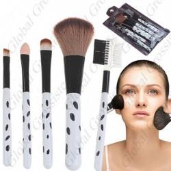 Kit de 5 pinceaux maquillage professionnel