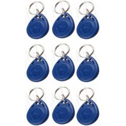 Badges RFID 125KHz / porte-clés - étanches